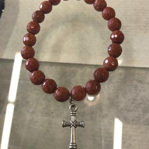 Jewelry - Goldstone Healing Bracelet